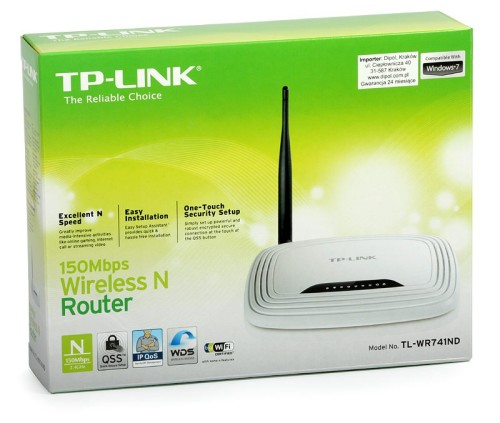 TP-LINK TL-WR841N Wireless N300 Home Router, 300Mpbs (New)